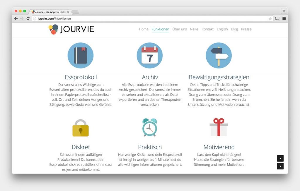 Screenshot Jourvie