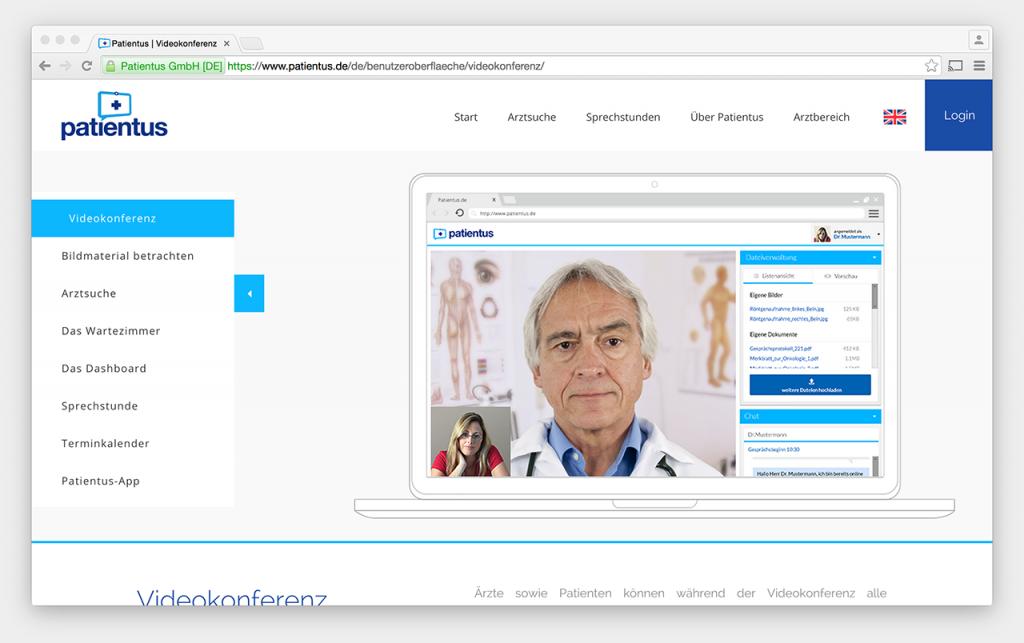Screenshot: Patientus
