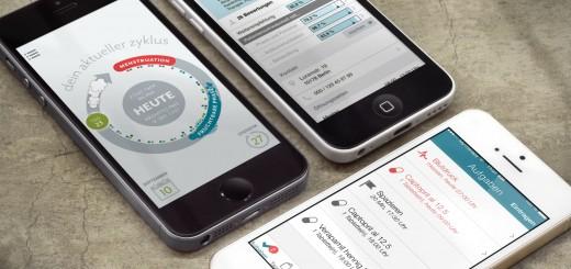 Screenshots: Die besten Gesundheits-Apps made in Germany