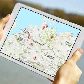 Interaktive Karte: Healthcare Startups in Deutschland