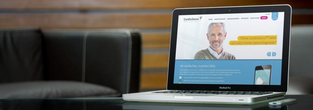 CardioSecur Website
