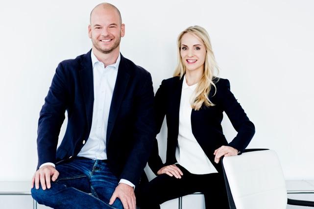 Das Caremondo-Gründerteam: Veronika Leitermann und Andreas Otto