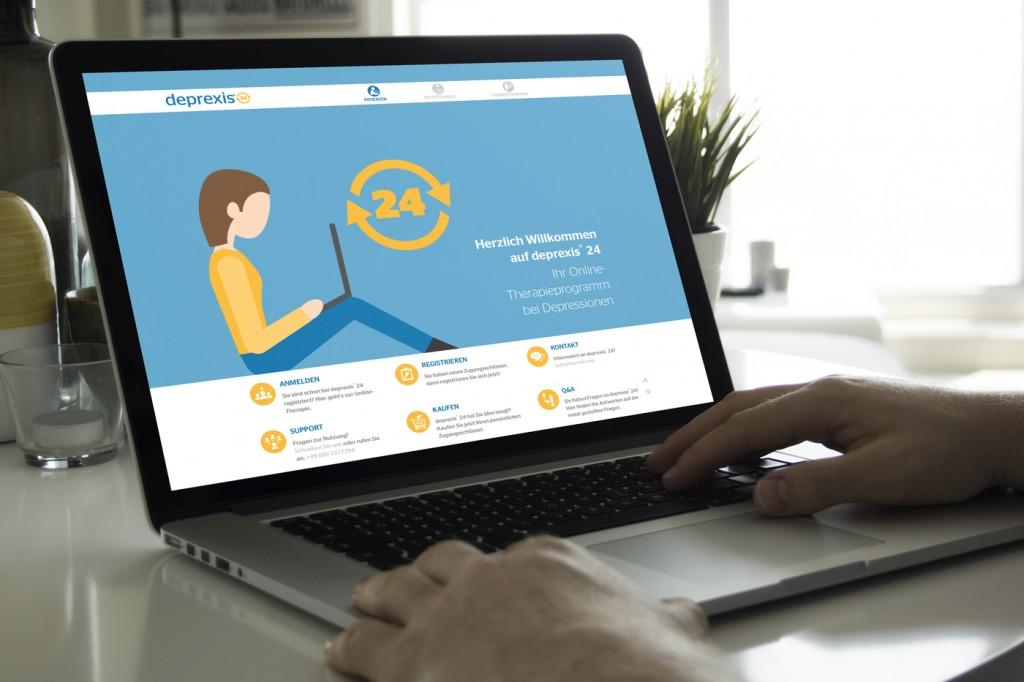 deprexis 24 Website