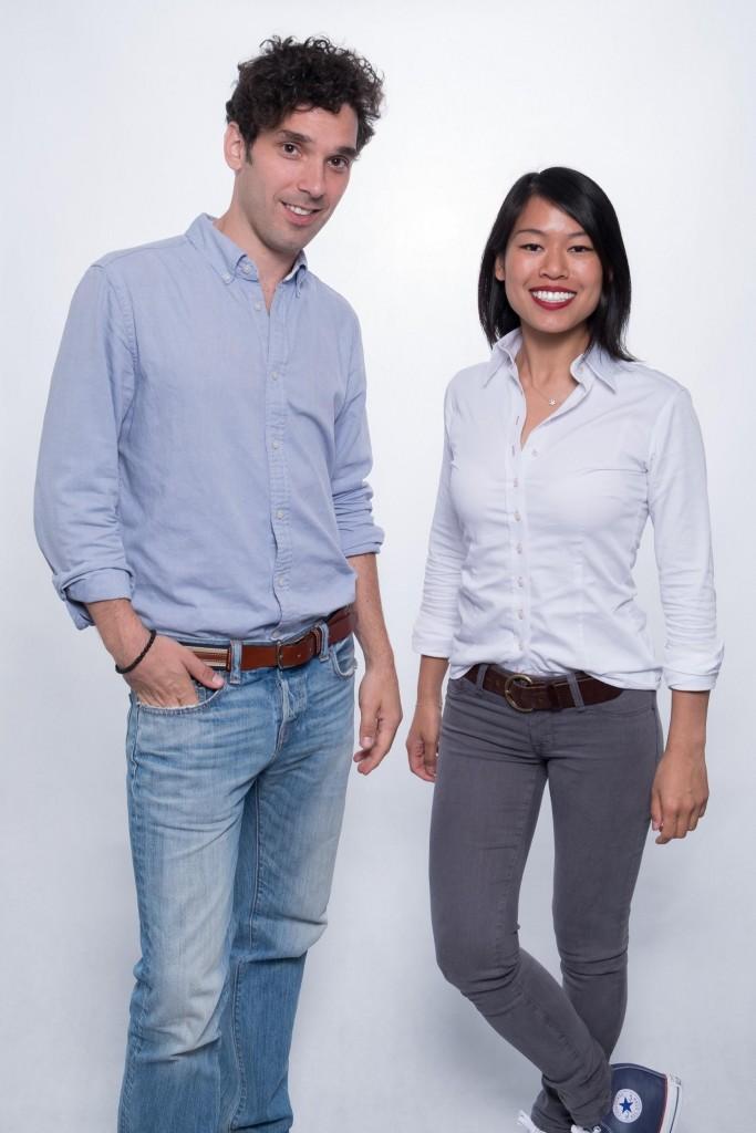 Junomedical Gründer Dr. Sophie Chung und Gero Graf